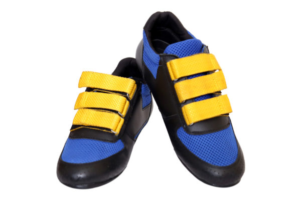 Ankaa Rowing Shoes of Blue Color with Yellow Straps