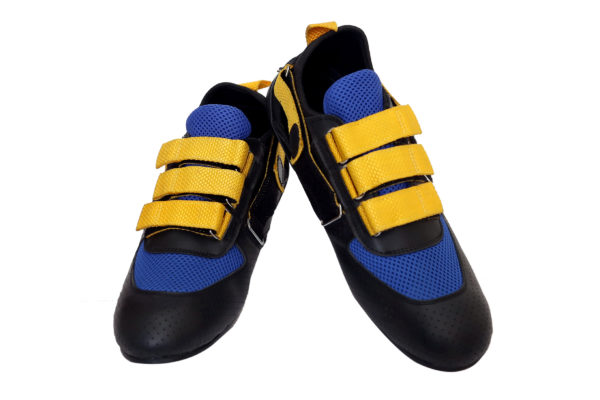Ankaa Adjustable Rowing Shoes of Yellow Color Strap